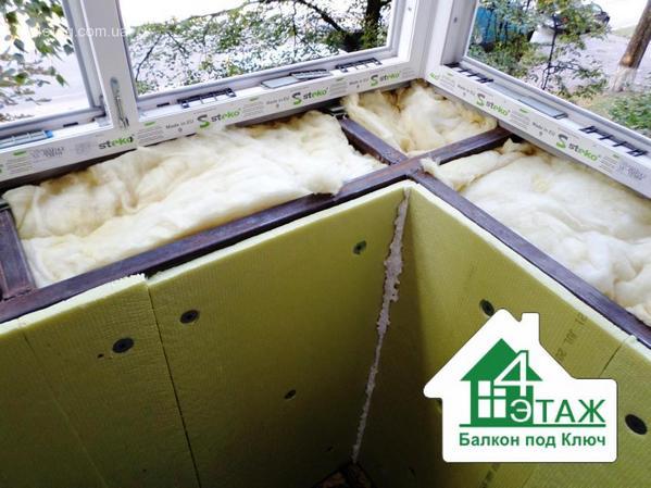 Утепление и обшивка балконов и лоджий svira.